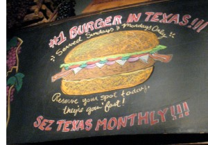 Proud of The #1 Burger in Texas