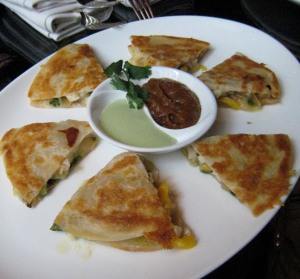 Fearing's Quesadilla - A Happy Hour Snack